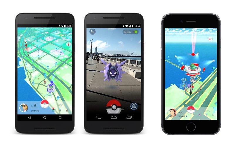 Pokémon GO game environment