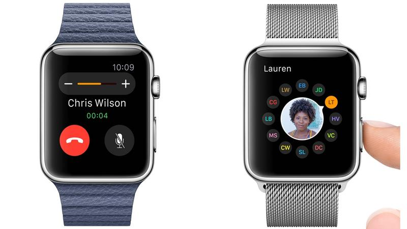 Calling with Applewatch