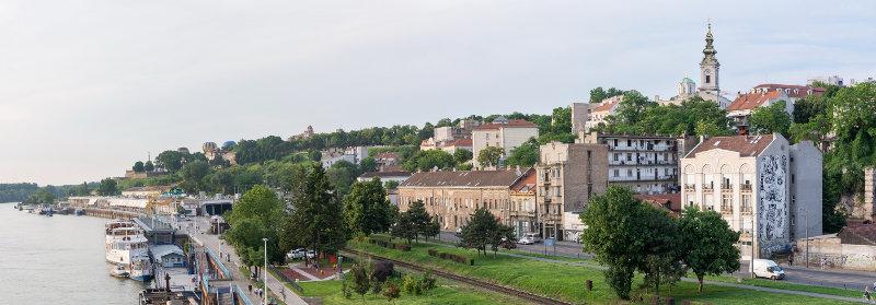 Digital nomad, Belgarde, Serbia